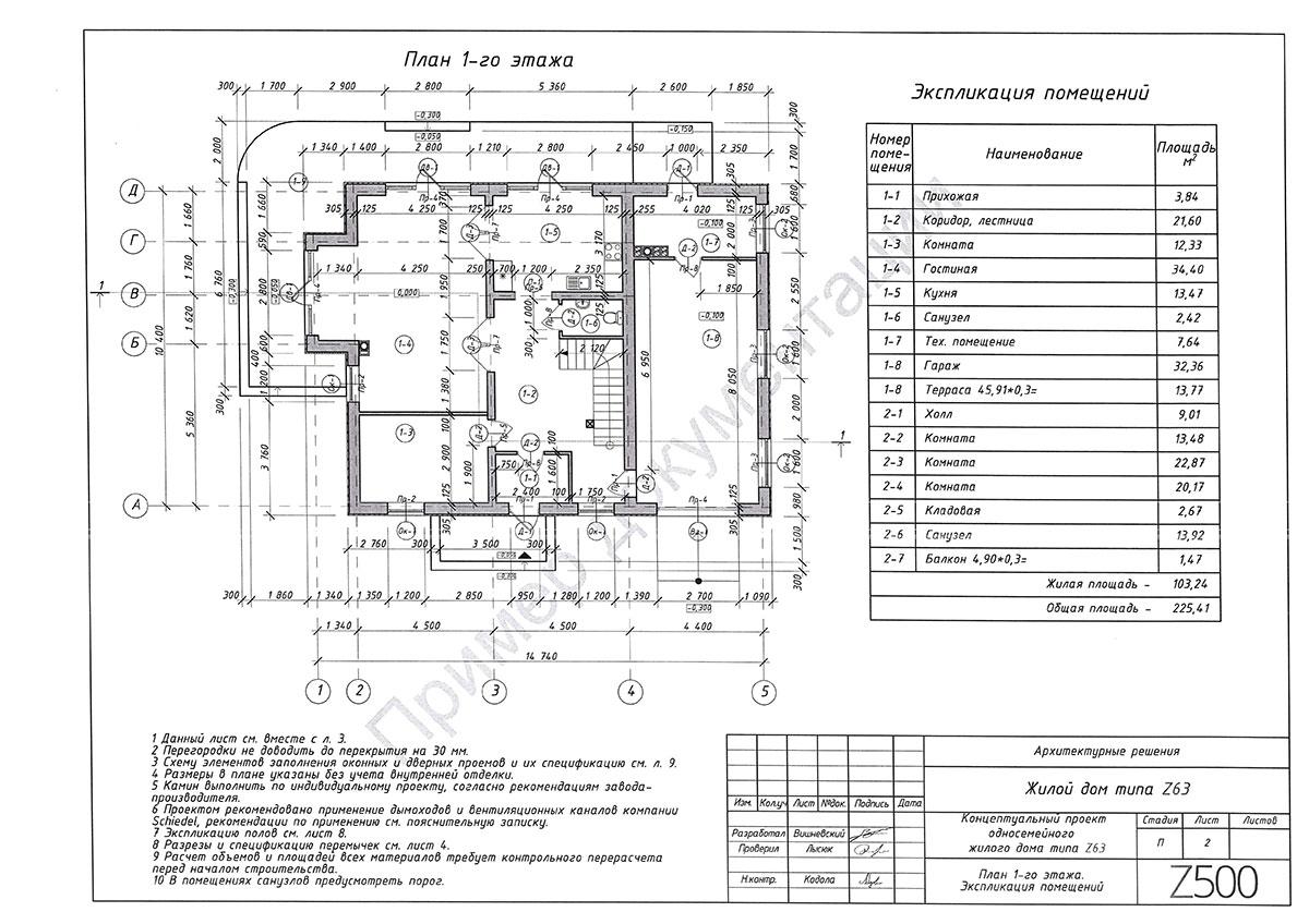 Пример архитектурного раздела 2