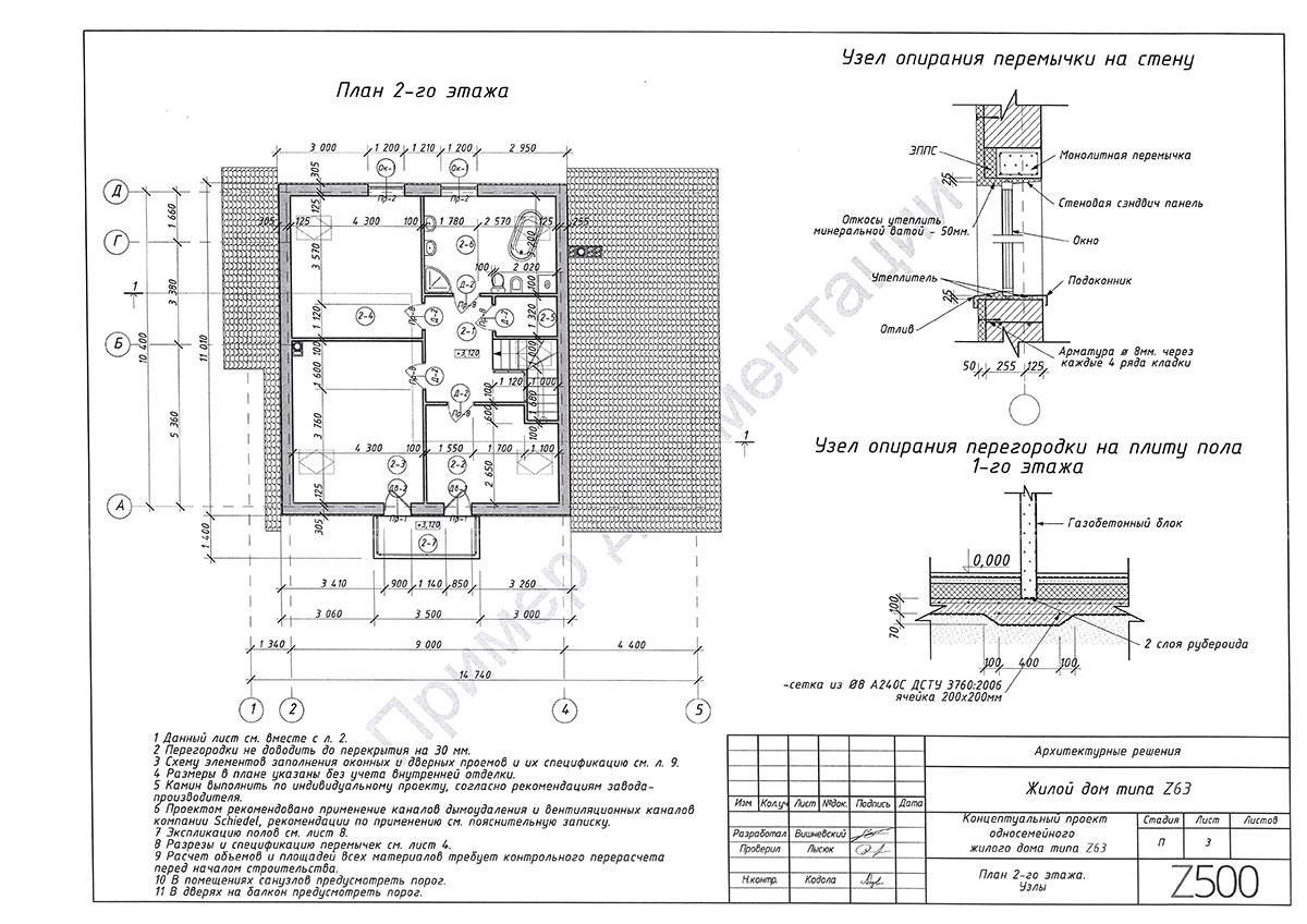 Пример архитектурного раздела 3