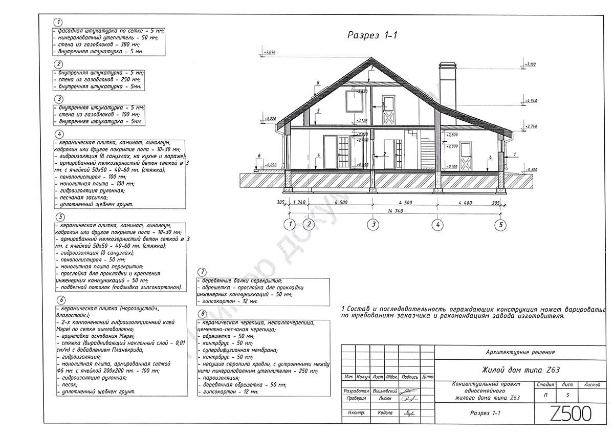 Пример архитектурного раздела 5