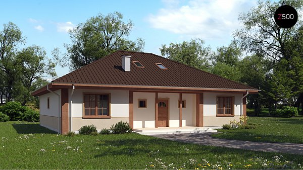 Проект дома Z10 D sdu