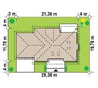 Минимальные размеры участка для проекта Z10 GL2 STU bk