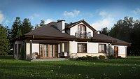 Вариант исполнения проекта дома Z10 GL2 STU bk