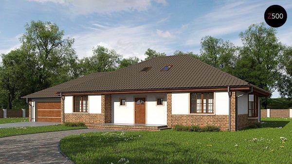 Проект дома Z10 GL2 stu