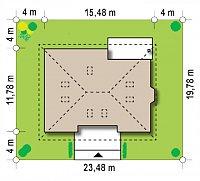 Минимальные размеры участка для проекта Z10 stu 30