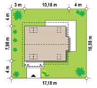 Минимальные размеры участка для проекта Z101