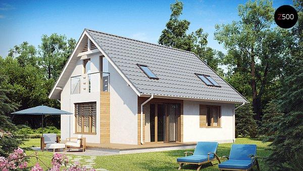 Проект дома Z101