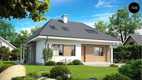 Проект дома Z104