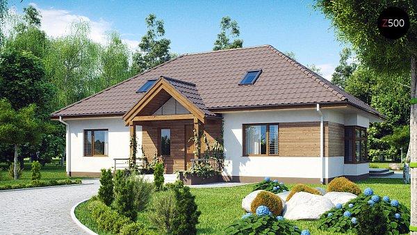Проект дома Z106