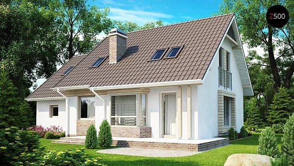 Проект дома Z107