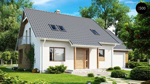 Проект дома Z108