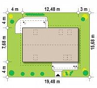 Минимальные размеры участка для проекта Z111