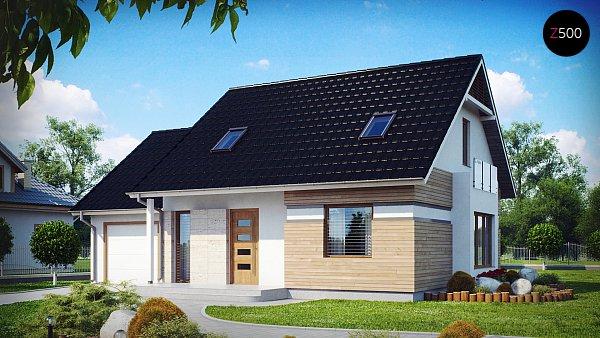 Проект дома Z114