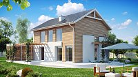 Проект дома Z115