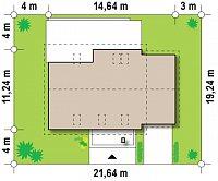 Минимальные размеры участка для проекта Z118