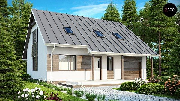 Проект дома Z119