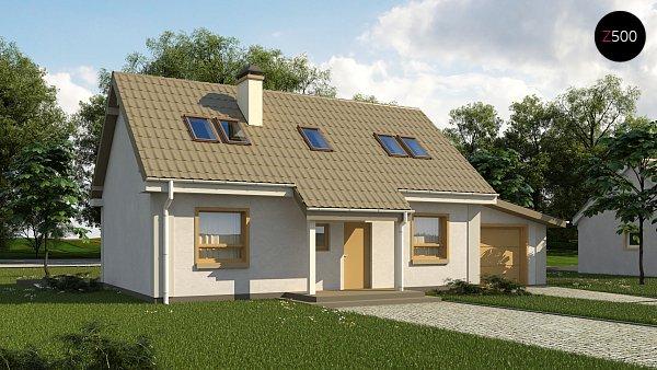Проект дома Z12 P GP