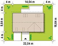 Минимальные размеры участка для проекта Z122 v2