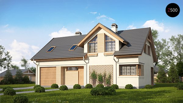 Проект дома Z122 v2