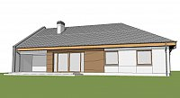 Проект дома Z123 ZBL Фото 3