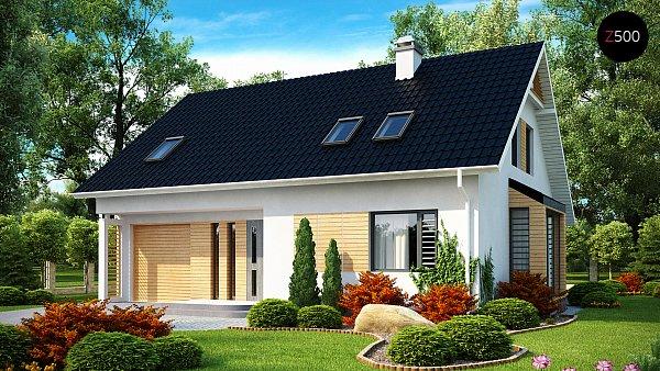Проект дома Z124