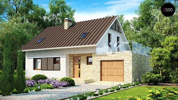 Проект дома Z127