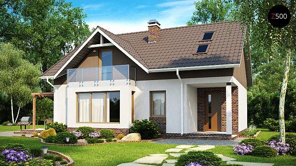Проект дома Z128