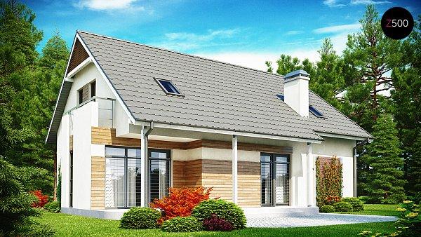 Проект дома Z129