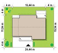Минимальные размеры участка для проекта Z131