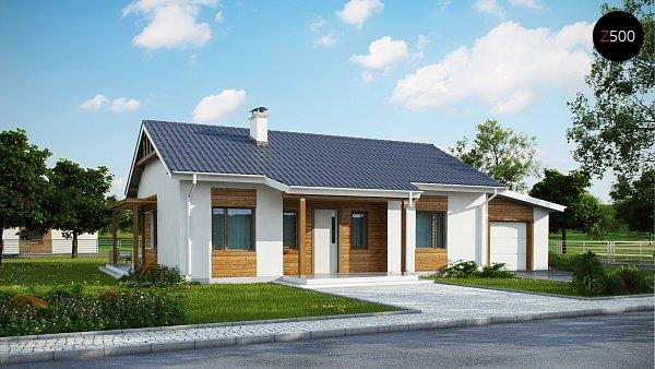Проект дома Z136 GP