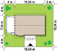 Минимальные размеры участка для проекта Z139