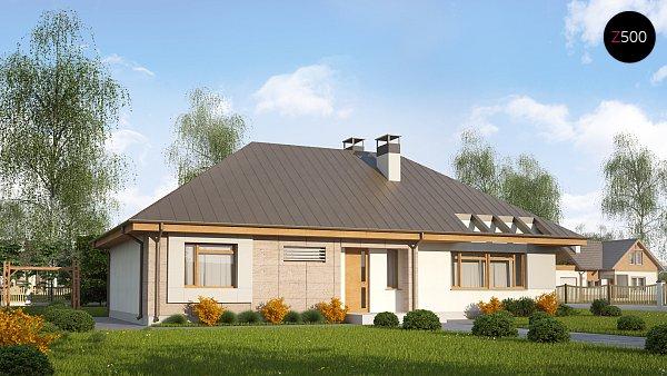 Проект дома Z140 v1