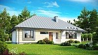 Вариант исполнения проекта дома Z140