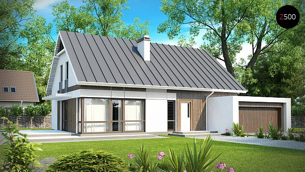 Проект дома Z142