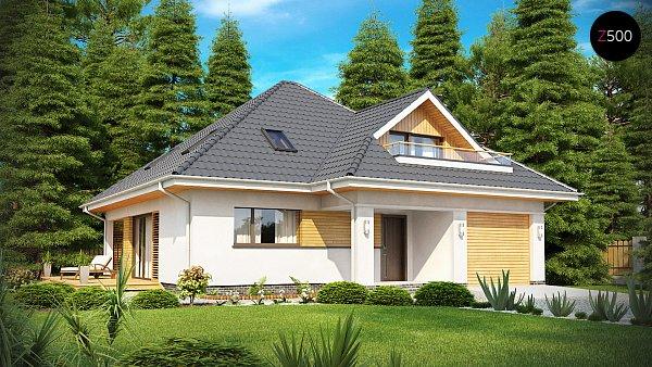 Проект дома Z143