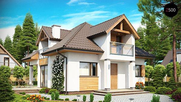 Проект дома Z145