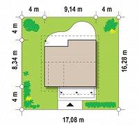 Минимальные размеры участка для проекта Z146