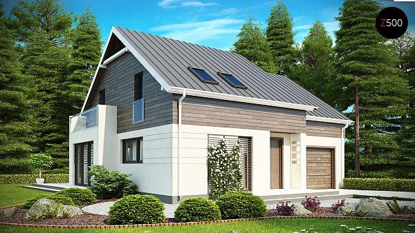 Проект дома Z147