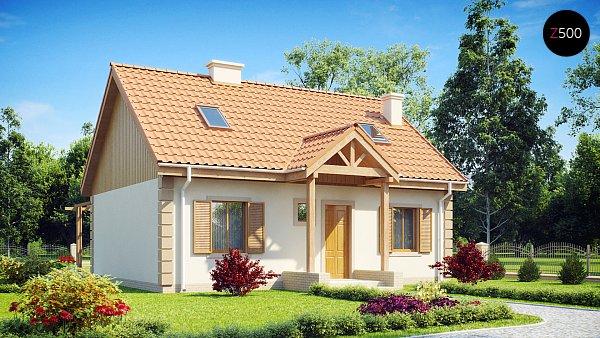 Проект дома Z14