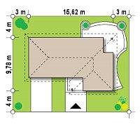 Минимальные размеры участка для проекта Z15 GL