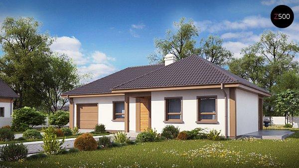 Проект дома Z15 GL