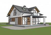 Проект дома Z150 GL Фото 1