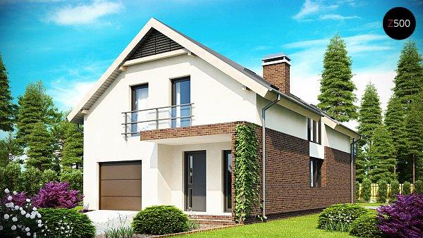 Проект дома Z154