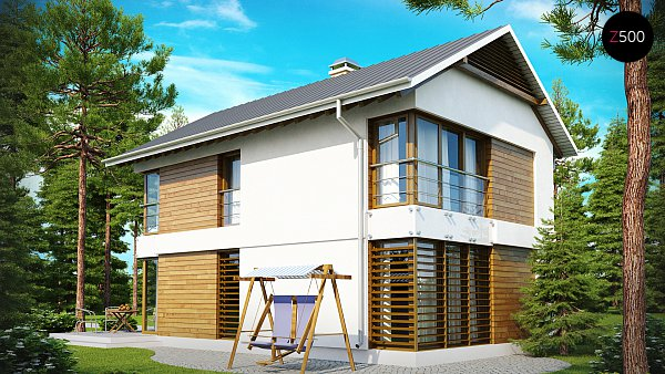 Проект дома Z155