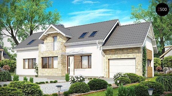 Проект дома Z157