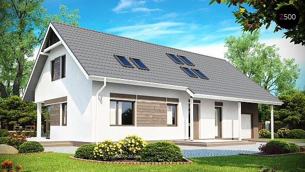Проект дома Z160