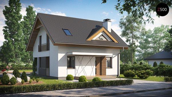 Проект дома Z163