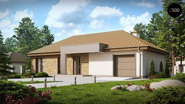 Проект дома Z165 v2.0