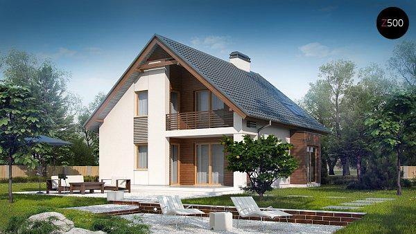 Проект дома Z166