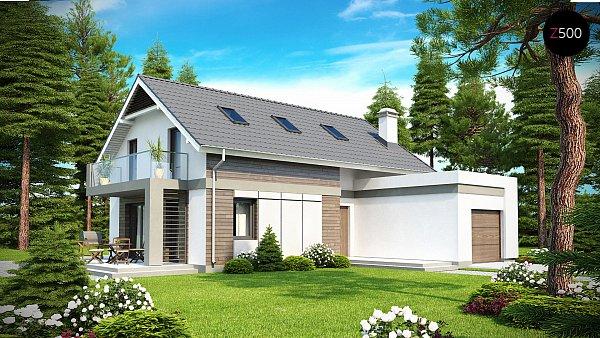 Проект дома Z168