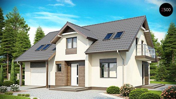 Проект дома Z172